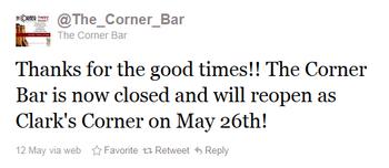 Cornerbartweet