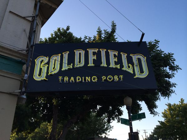 Happy Hour At Goldfield Trading Post Cowtown Eats
