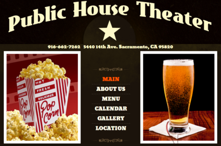 Public house theater